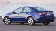 Acura TSX сзади