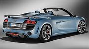 Audi R8 GT Spyder сзади