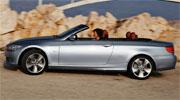 BMW 3 серии cabriolet сбоку
