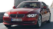 BMW 3 серии coupe спереди