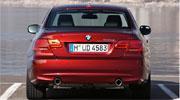 BMW 3 серии coupe сзади