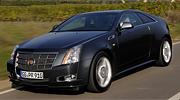 Cadillac CTS Coupe спереди