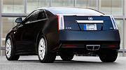 Cadillac CTS Coupe сзади