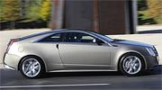 Cadillac CTS Coupe сбоку
