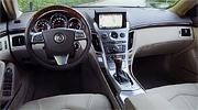 Cadillac CTS Coupe интерьер