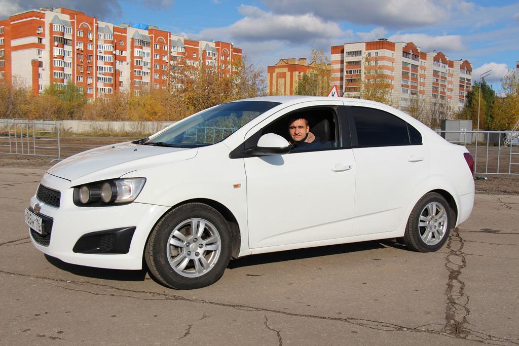 Учебный Chevrolet Aveo