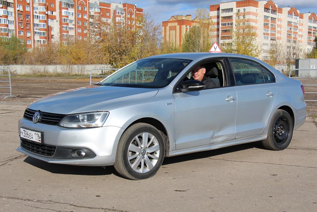 Учебный Volkswagen Jetta